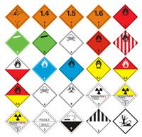 Picture of Listice opasnosti 250x250 mm (reflektirajuće naljepnice)