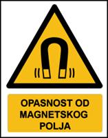 Slika W006 - OPASNOST OD MAGNETSKOG POLJA (CS-OP-030)