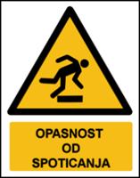 Slika W007 - OPASNOST OD SPOTICANJA (CS-OP-107)