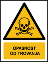 Picture of W016 - OPASNOST OD TROVANJA (CS-OP-006)