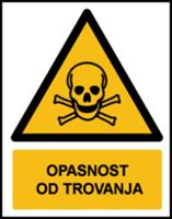 Slika W016 - OPASNOST OD TROVANJA (CS-OP-006)
