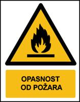Slika W021 - OPASNOST OD POŽARA (CS-OP-002)