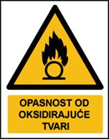Slika W028 - OPASNOST OD OKSIDIRAJUĆE TVARI (CS-OP-003)