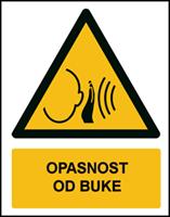 Slika W038 - OPASNOST OD BUKE (CS-OP-031)