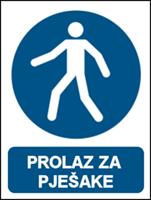 Slika M024 - PROLAZ ZA PJEŠAKE (CS-OB-036)