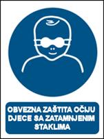 Picture of M025 - OBVEZNA ZAŠTITA OČIJU DJECE SA ZATAMNJENIM STAKLIMA (CS-OB-125)
