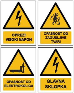Logo za kategoriju Ostali znakovi opasnosti (provjereni u praksi)
