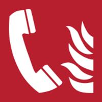 Slika F006 - POŽARNI TELEFON