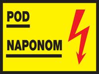 Slika CS-INFO-018 - POD NAPONOM