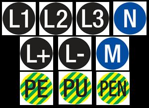 Logo za kategoriju Označavanje vodiča prema HRN EN 60445:2008